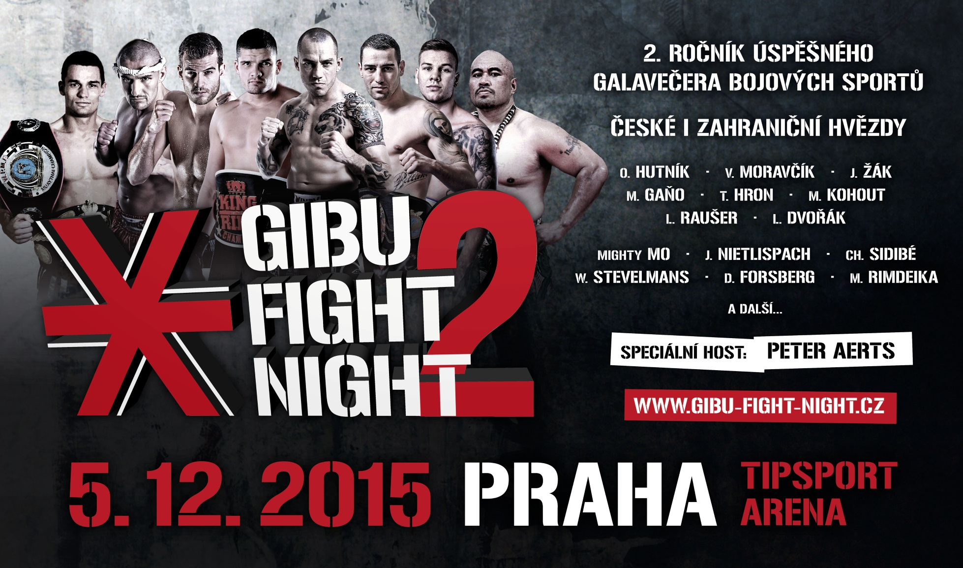 GIBU FIGHT NIGHT je zpět!
